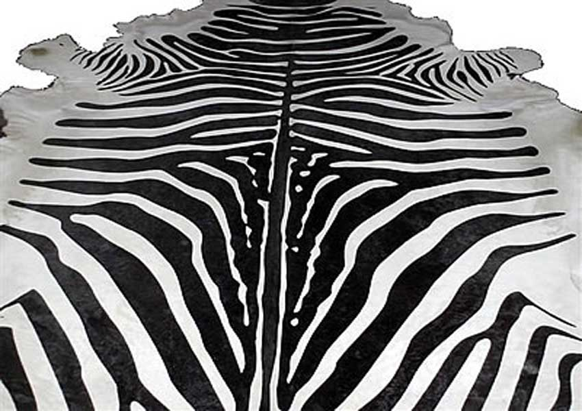 Click to see larger picture of Zebra Rug